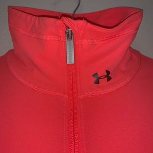 Under Armour neon coral active wear sweater